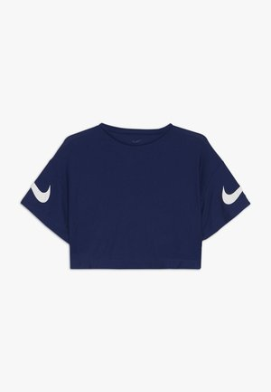 DRY STUDIO - T-shirt con stampa - blue void/white