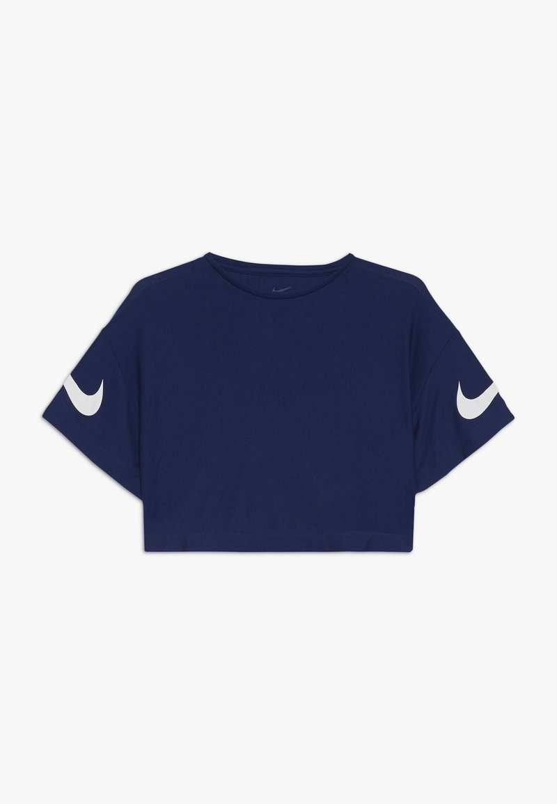 Nike Performance - DRY STUDIO - T-shirt print - blue void/white