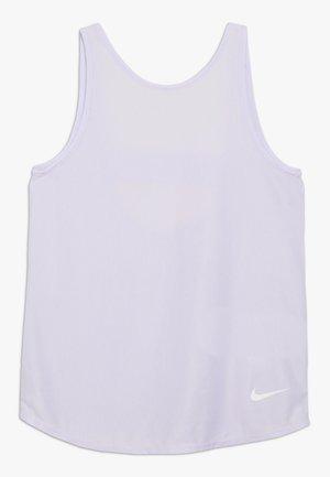 STUDIO TANK - Top - lavender mist/white