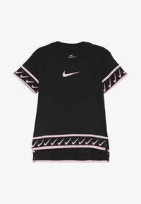 black/pink tint