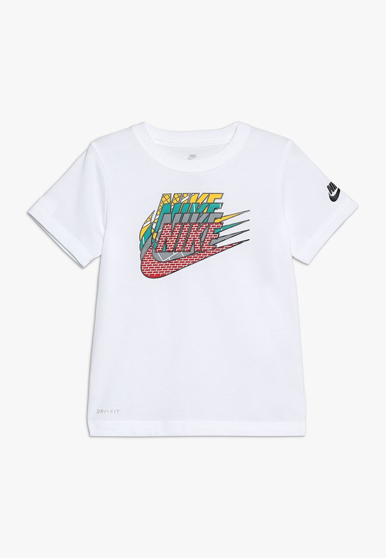 Nike Performance - GEO MULTI FUTURA TEE - Print T-shirt - white