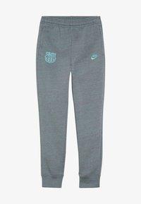 Nike Performance - FC BARCELONA PANT  - Club wear - dark grey/cabana - 3