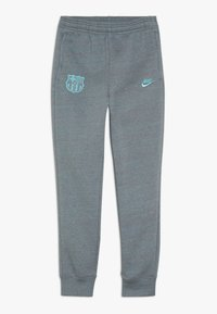 Nike Performance - FC BARCELONA PANT  - Club wear - dark grey/cabana - 0