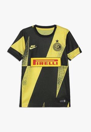 INTER MAILAND DRY - Klubtrøjer - tour yellow/black