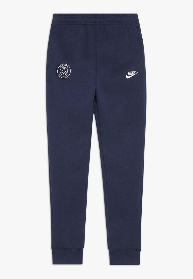Nike Performance - PARIS ST GERMAIN PANT - Fanartikel - midnight navy/white