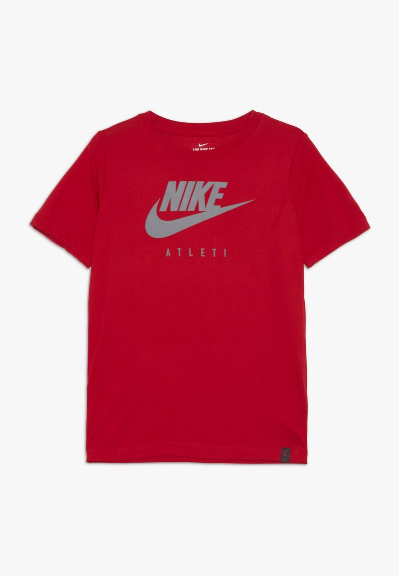 Nike Performance - DRY TEE GROUND - Print T-shirt - sport red