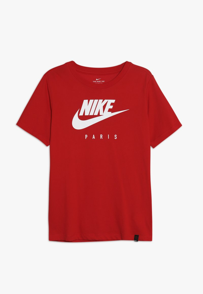 Nike Performance - PARIS ST GERMAIN DRY TEE GROUND - Club wear - university red