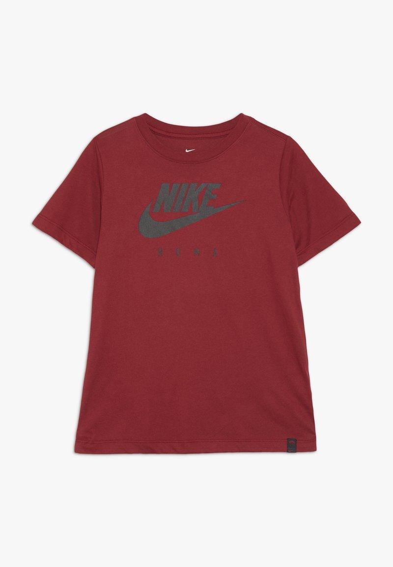 Nike Performance - AS ROM DRY TEE GROUND  - Print T-shirt - team crimson