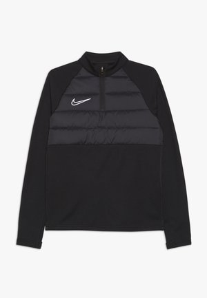 DRILL TOP WINTERIZED - Fleece jumper - black/reflective silver