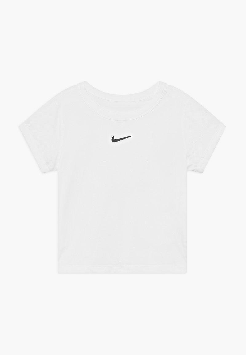 Nike Performance - DRY UNISEX - T-shirt basic - white/black