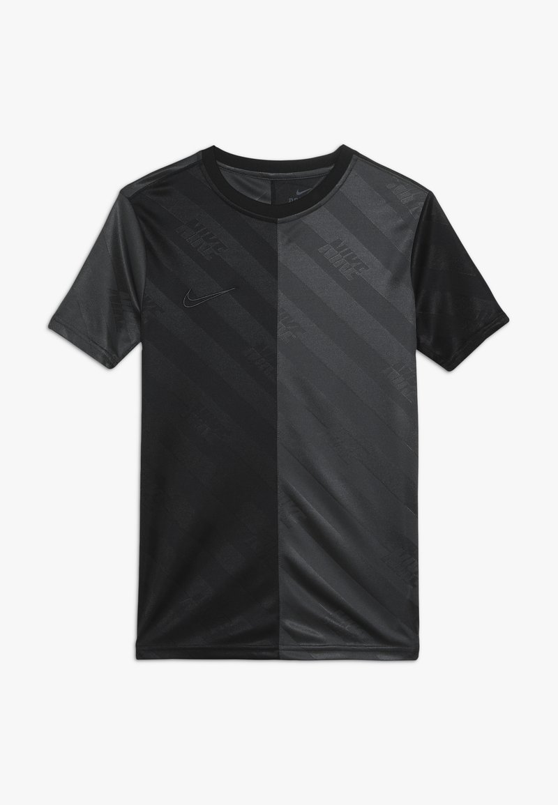 Nike Performance - DRY - T-shirt med print - black/anthracite