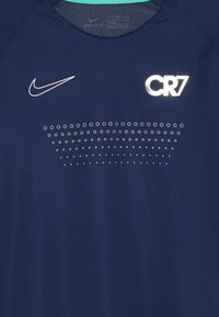 Nike Performance - CR7 DRY - T-shirt con stampa - blue void/hyper jade/silver - 3