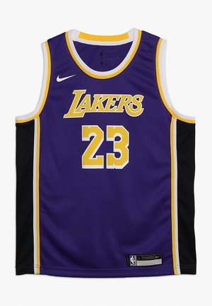 NBA SWINGMAN STATEMENT LEBRON JAMES LA LAKERS KIDS - Klubové oblečení - purple