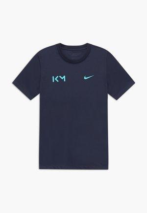 KYLIAN MBAPPE - T-shirt print - obsidian/aurora green