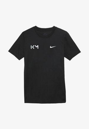 KYLIAN MBAPPE - T-shirt z nadrukiem - black