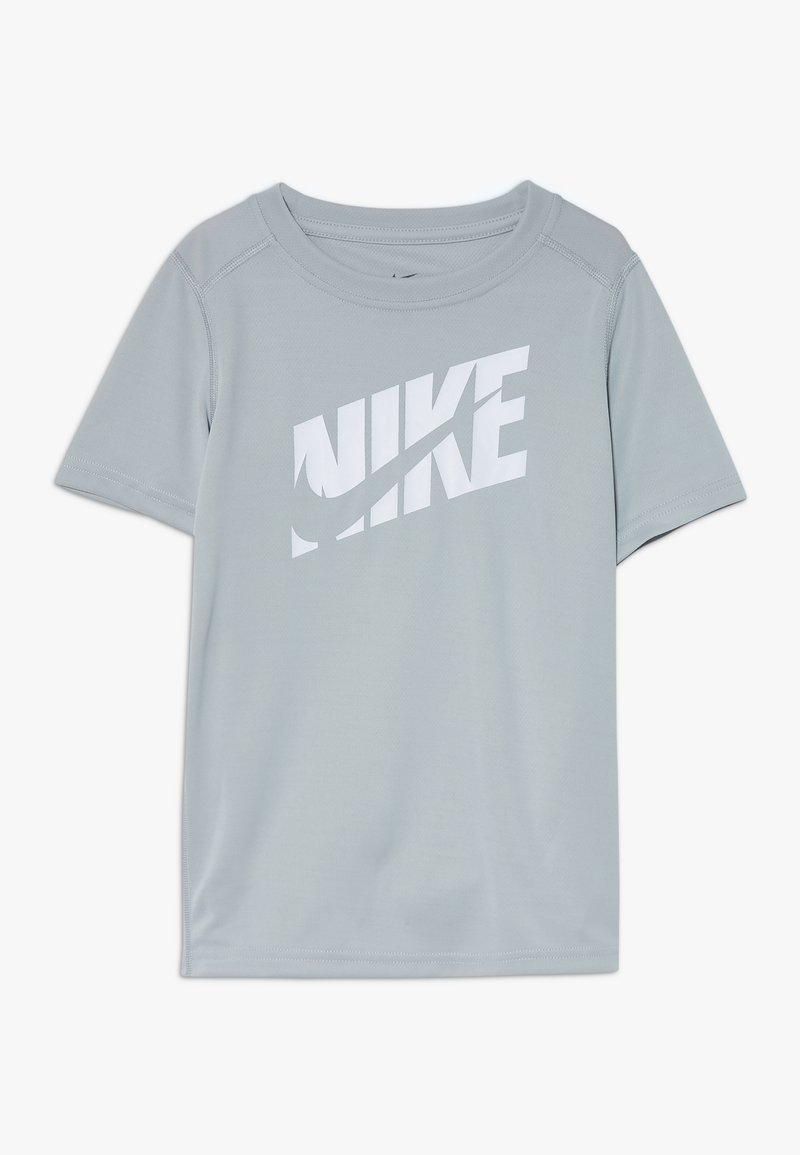 Nike Performance - T-shirt imprimé - light smoke grey/white