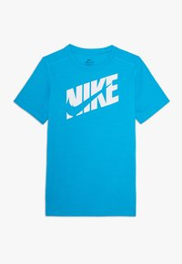 Nike Performance - Print T-shirt - laser blue/white - 0