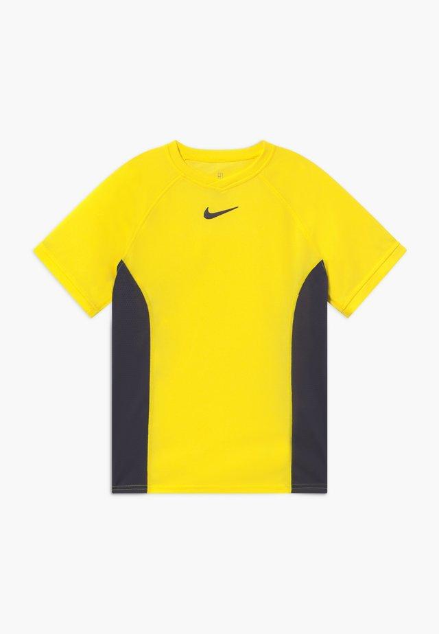 DRY - Camiseta estampada - opti yellow/gridiron
