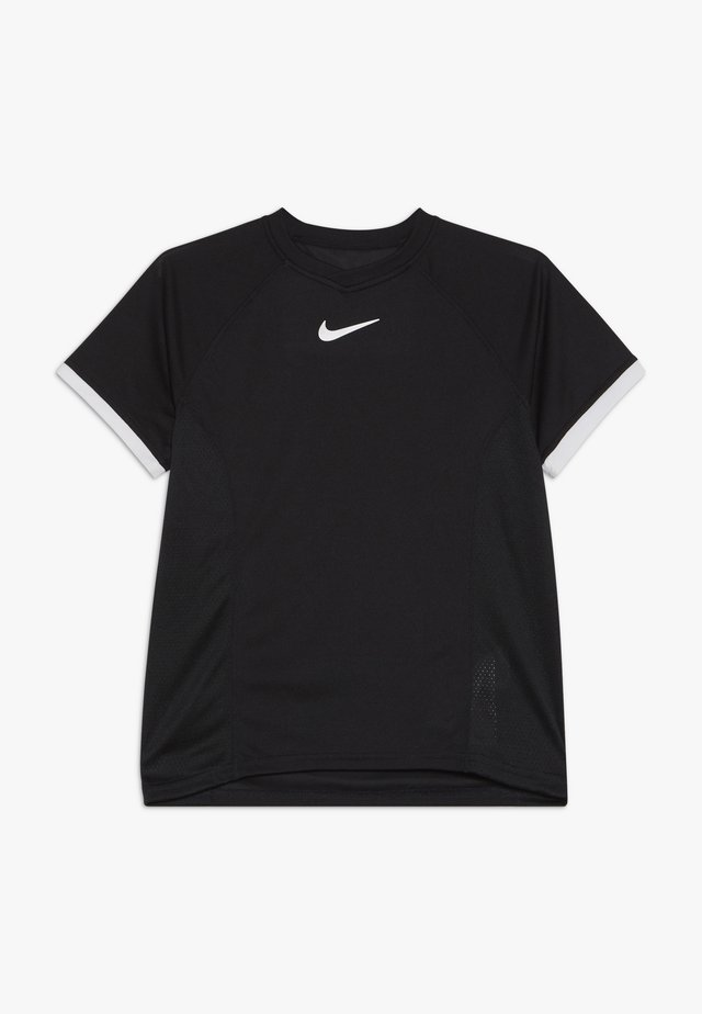 DRY - Camiseta estampada - black/white