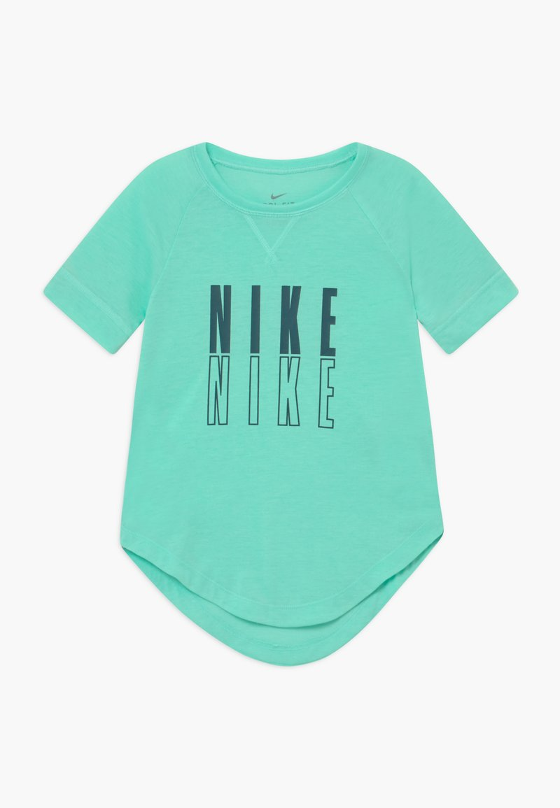 Nike Performance - TROPHY - T-shirt con stampa - emerald rise/midnight turquoise