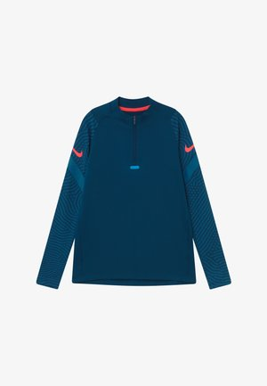 DRY - Sports shirt - valerian blue/laser crimson