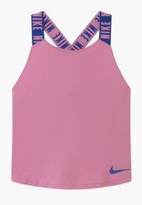 Nike Performance - DRY TANK ELASTIKA - Sports shirt - magic flamingo/hyper blue - 0