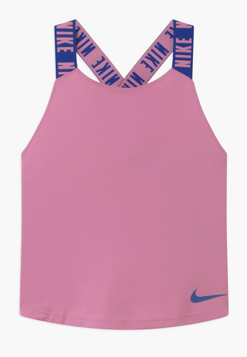 Nike Performance - DRY TANK ELASTIKA - Sports shirt - magic flamingo/hyper blue