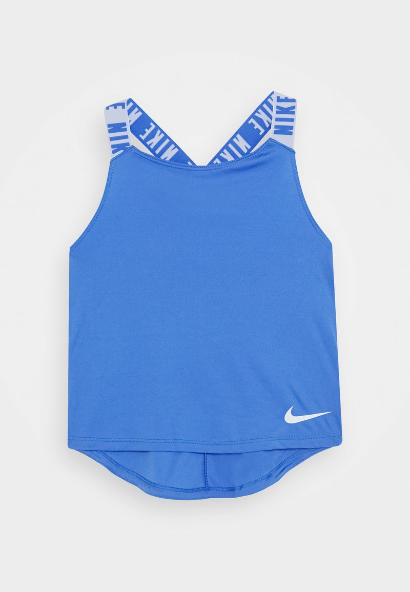Nike Performance - DRY TANK ELASTIKA - Koszulka sportowa - pacific blue/football grey