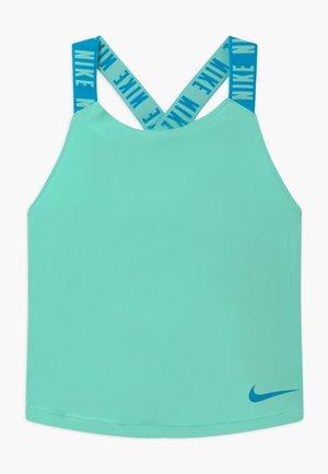 DRY TANK ELASTIKA - Camiseta de deporte - emerald rise/laser blue