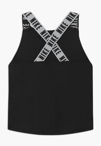 Nike Performance - DRY TANK ELASTIKA - Sports shirt - black/white