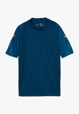 Sports shirt - valerian blue/laser crimson