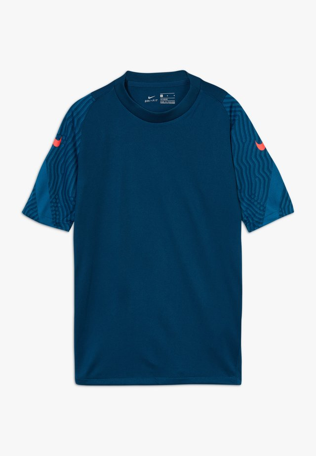 Camiseta estampada - valerian blue/laser crimson