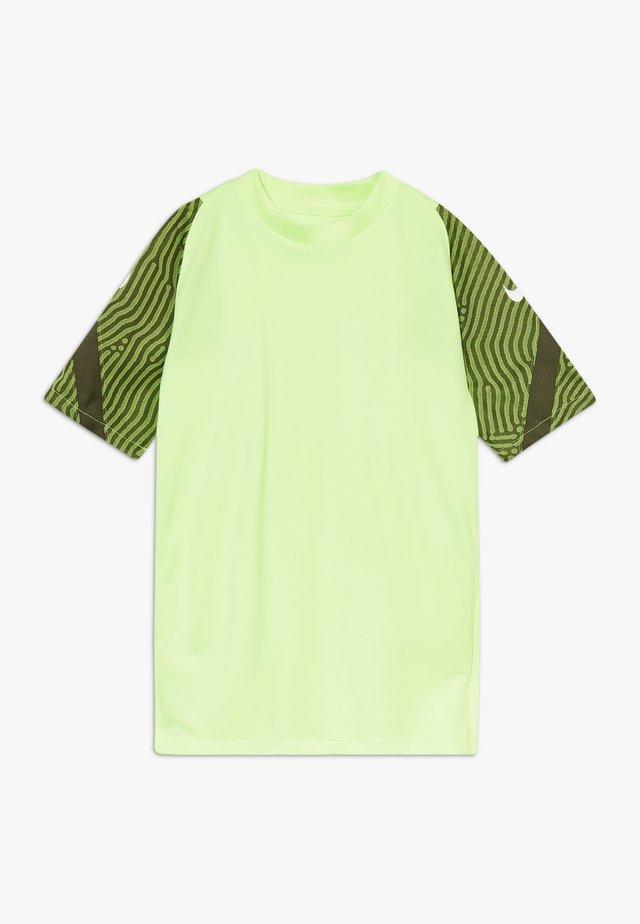 Camiseta estampada - ghost green/cargo khaki/white