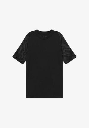 Print T-shirt - anthracite/black