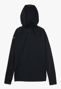 Nike Performance - CR7 DRY MIDLAYER - Sweat à capuche - black/lemon - 1