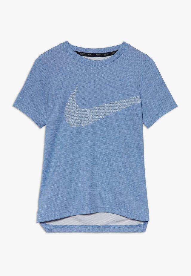 STATEMENT  - Camiseta estampada - game royal/white