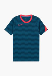 Nike Performance - DRY - T-shirt print - laser blue/laser crimson - 0