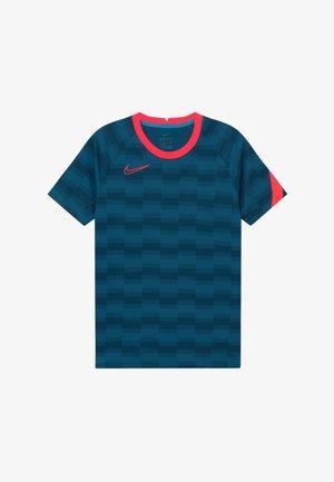 DRY - T-shirt imprimé - laser blue/laser crimson