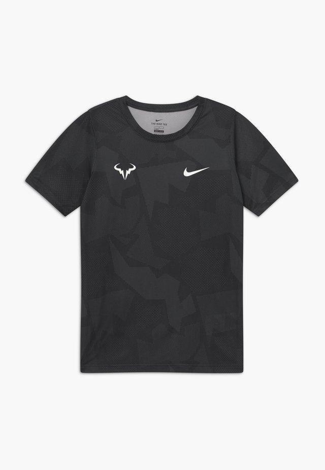 RAFAEL NADAL - Camiseta estampada - white/black/anthracite