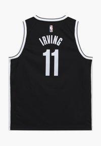 Nike Performance - NBA KYRIE IRVING BROOKLYN NETS JERSEY - Oblečení národního týmu - black - 1