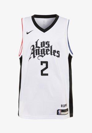 NBA KAWHI LEONARD LA CLIPPERS  - T-shirt sportiva - white