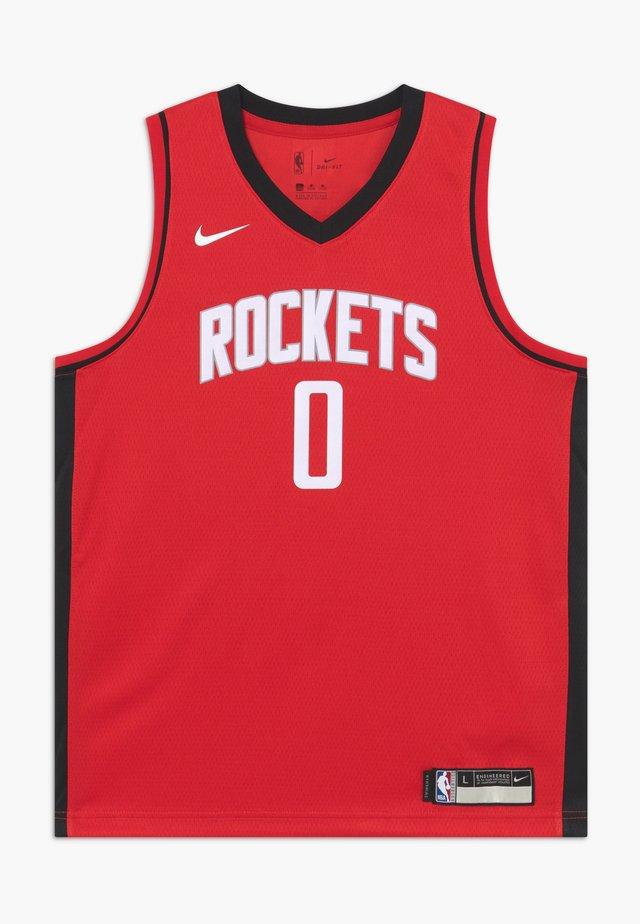 NBA RUSSELL WESTBROOK HOUSTON ROCKETS - Landslagströjor - red