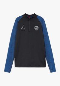 Nike Performance - PARIS ST. GERMAIN STRIKE - Club wear - black/hyper cobalt/white - 0