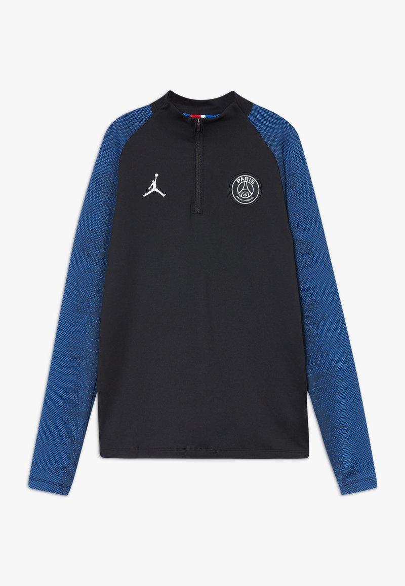 Nike Performance - PARIS ST. GERMAIN STRIKE - Club wear - black/hyper cobalt/white
