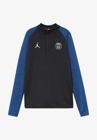 Nike Performance - PARIS ST. GERMAIN STRIKE - Club wear - black/hyper cobalt/white - 3