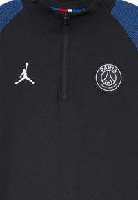 Nike Performance - PARIS ST. GERMAIN STRIKE - Club wear - black/hyper cobalt/white - 4