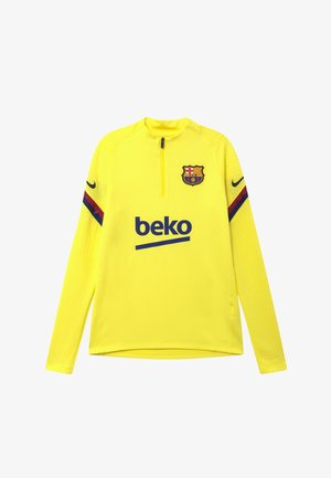 FC BARCELONA DRY STRIKE DRILL - Fanartikel - sonic yellow/dark obsidian