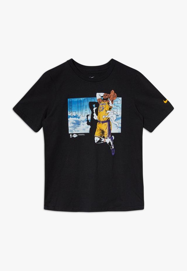 NBA LEBRON JAMES ELEVATION TEE - Camiseta estampada - black