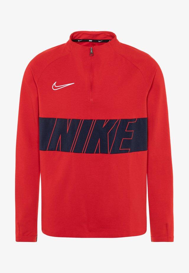 DRY ACADEMY DRIL  - Sportshirt - university red/white