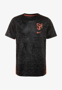 Nike Performance - NEYMAR DRY - Sports shirt - black/bright crimson - 0